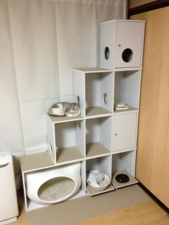 IKEA キャットタワーのインテリア実例 ...