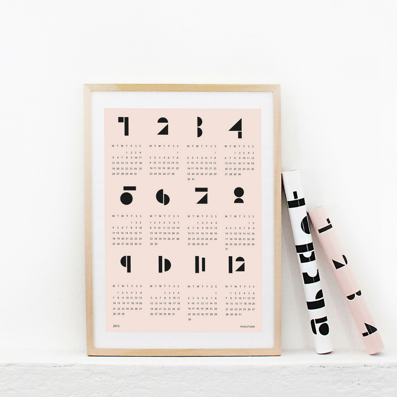 【毎日を楽しい気分にしてくれる♪】おしゃれな可愛いカレンダー☆のサムネイル画像