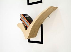 かわいくておしゃれな小さい本棚で、インテリアにアクセントを。のサムネイル画像