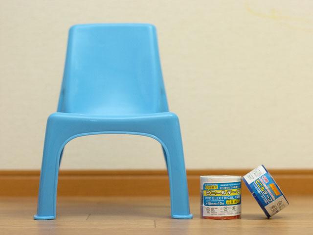 ≪製作費300円≫ダイソーの椅子で子供が喜ぶキャラクター椅子をDIYのサムネイル画像