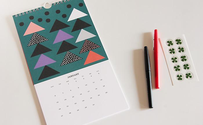 2017年のカレンダーを買うなら今!おすすめは人気の北欧風カレンダーのサムネイル画像