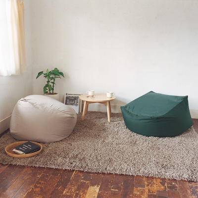 ビーズクッションソファは極上の座り心地♡とろける至福のひとときのサムネイル画像