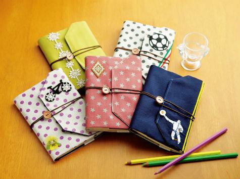 ブックカバーを手作りして、お気に入りの本をかわいく大切に♡のサムネイル画像