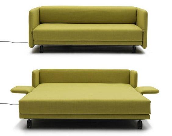 ソファベッドでスペース節約!おしゃれなレイアウト紹介します。のサムネイル画像