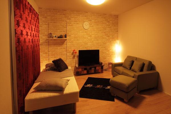 【狭くても可愛いお部屋!】おしゃれな1Kのインテリアコーディネートのサムネイル画像
