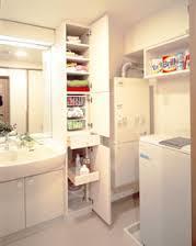 洗面台周りに必要なものを収納するならおススメの収納家具はこれ!のサムネイル画像