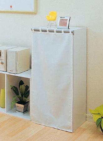 カラーボックスにカーテンをつけてお部屋すっきりイメージチェンジ!のサムネイル画像