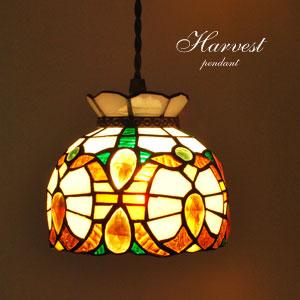 ペンダントライトは優しい色のステンドグラスに絶対決まり♪のサムネイル画像
