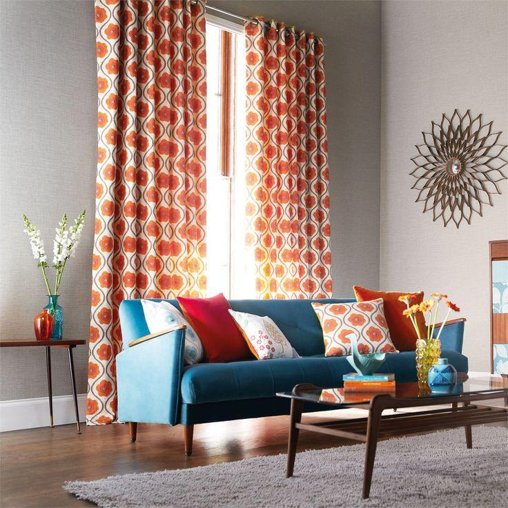 北欧デザインのカーテンで、リビングをオシャレな空間にしよう♪のサムネイル画像