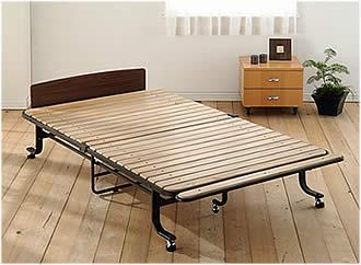 すのこで作った、折りたたみベッドがあります。寝心地はいい?のサムネイル画像