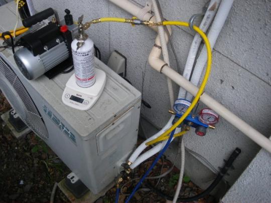 あなたのエアコンは大丈夫?ガス漏れ注意です!ガス点検を。のサムネイル画像