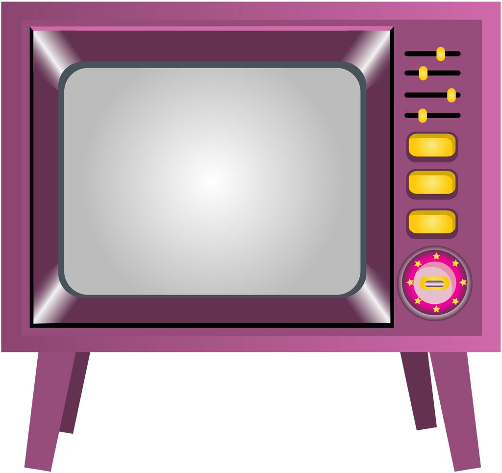 テレビのイラストとテレビを見ているイラスト画像集めました!のサムネイル画像