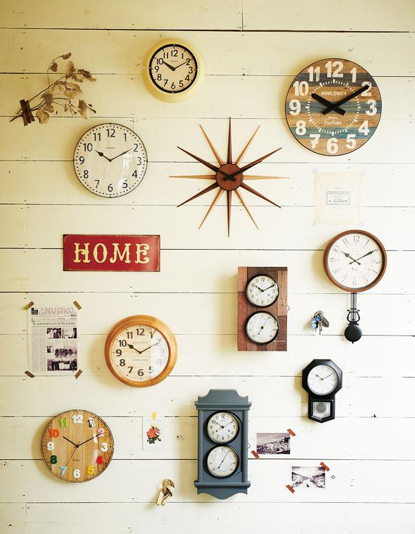 おしゃれな壁掛け時計を紹介。お気に入りを見つけてください。のサムネイル画像