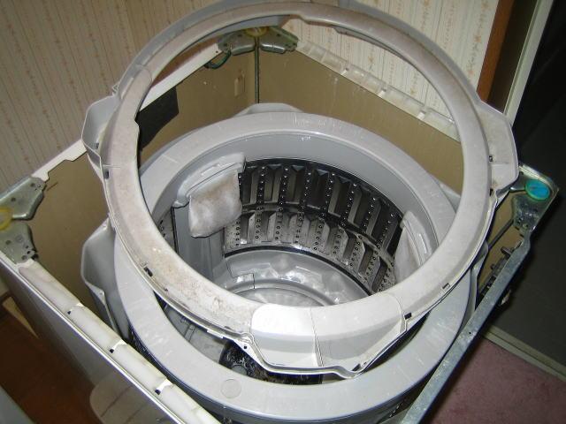 洗濯機の分解!分解してどうするの?もちろん清掃しましょうのサムネイル画像