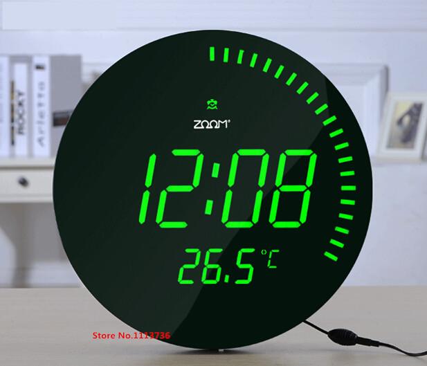 かっこいい!寿命が長く取り替えの手間なし!家庭用led時計ご紹介!のサムネイル画像