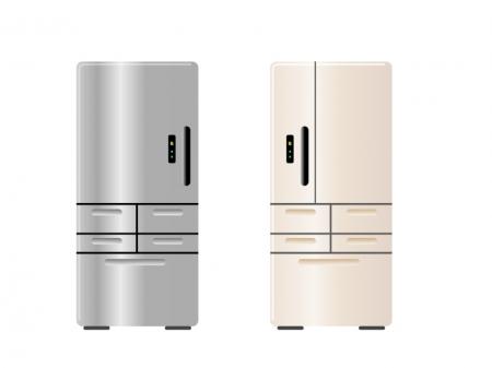 様々なタイプの冷蔵庫のイラストをタイプ別にご紹介していきます!のサムネイル画像