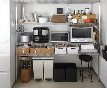 簡単キッチン収納術!ラックを使ってキッチン収納の達人になろう!のサムネイル画像