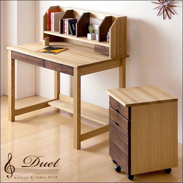 お子さんの学習机はシンプルな物を♪長く愛してもらいたいですね♪のサムネイル画像