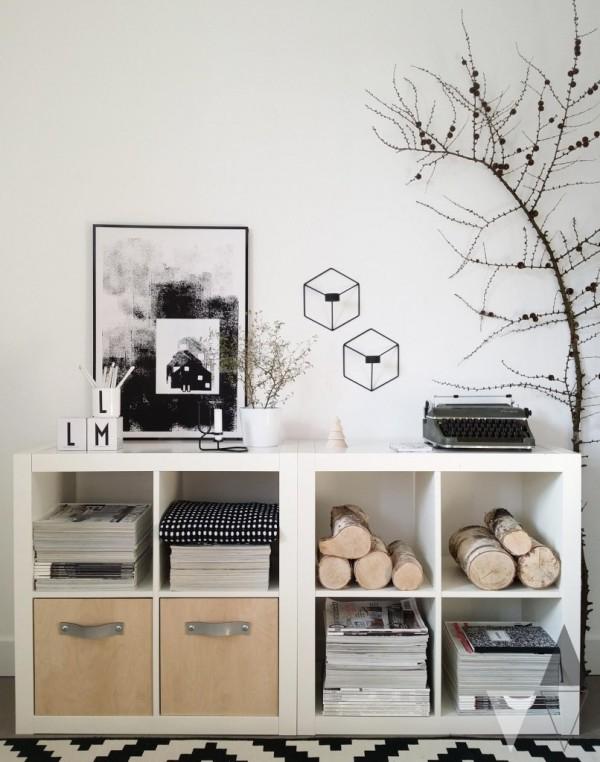 組み合わせ自由自在IKEAのカラーボックスで自分好みの家具!のサムネイル画像