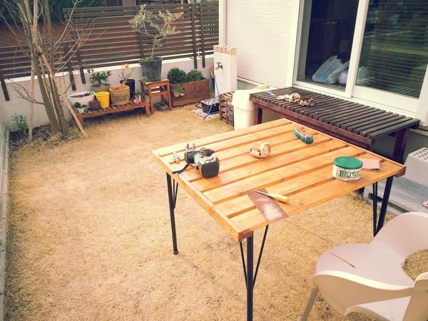 DIY好きが教える♪自作テーブルで自分好みのお部屋に大改造☆のサムネイル画像