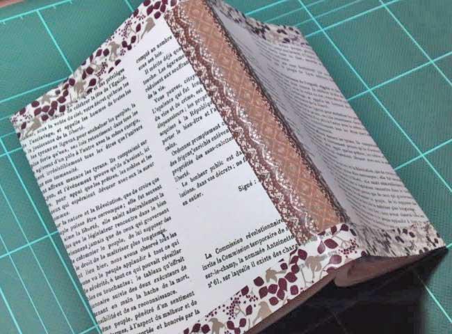 読書大好き☆意外と簡単に作れます☆オリジナルブックカバーの作り方のサムネイル画像