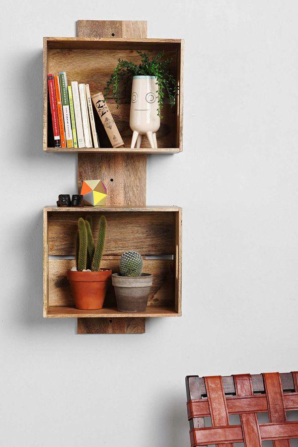 diyでインテリア☆簡単でおしゃれな棚を手作りしてみましょう!のサムネイル画像