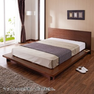 ダブルベッドで、夜のひと時をゆったりと過ごしましょう!!のサムネイル画像