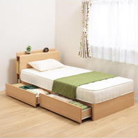 ベッドを買い替えよう!便利な収納付きベッドなんてどう?♡のサムネイル画像
