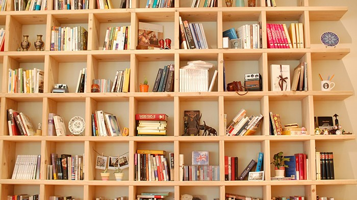 本好きにはたまらない!お洒落な本棚、インテリアとしての本棚探し♪のサムネイル画像