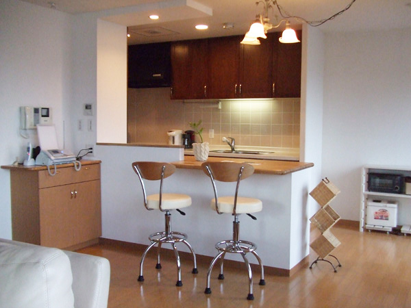 キッチンカウンターでお洒落で使いやすいキッチンが実現しますのサムネイル画像