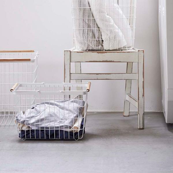 洗濯を楽しく♪ランドリースペースがかわいくなるおしゃれ洗濯カゴ♡のサムネイル画像