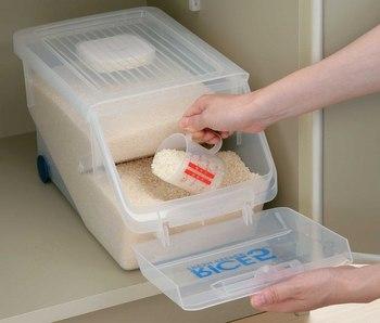 【10kgタイプの米びつ特集】お米の保存は米びつを使用しましょう。のサムネイル画像