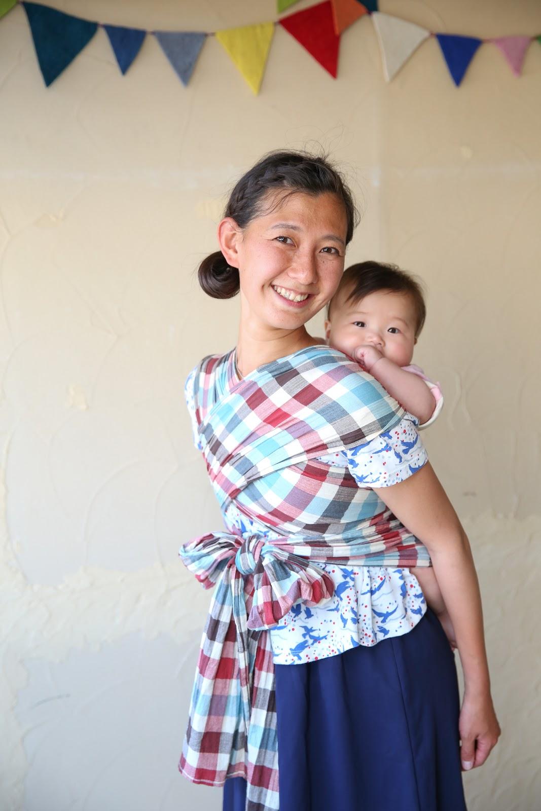 今も昔も母と子のきずなを支えるおんぶ紐、その簡単な作り方と着方のサムネイル画像