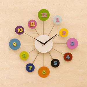 子供部屋にピッタリ!かわいくてオシャレな掛け時計を集めました!のサムネイル画像