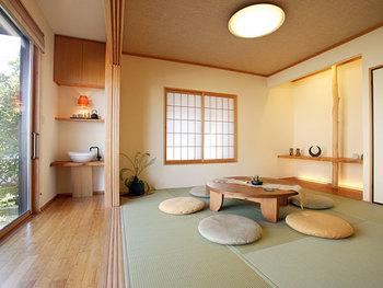 【センスのいい和室でリラックス】おしゃれな照明で素敵な和室に♪のサムネイル画像