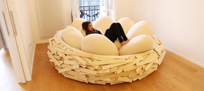 春だから♩新しいソファとクッションでお部屋をイメチェン!のサムネイル画像