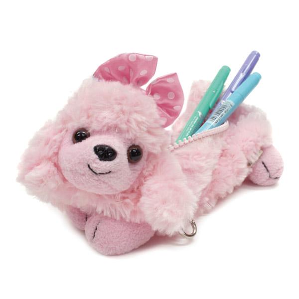 動物のぬいぐるみ?いいえ筆箱です。しっかり使える可愛い筆箱のサムネイル画像