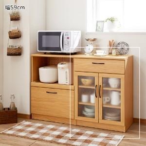 一人暮らしに便利な食器棚で、狭いキッチンをおしゃれに使おう♪のサムネイル画像