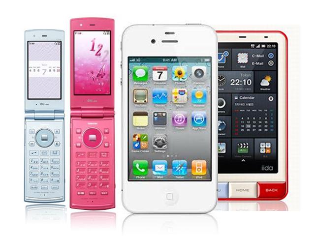 どの携帯電話が人気?気になる携帯電話の人気ランキングベスト10のサムネイル画像