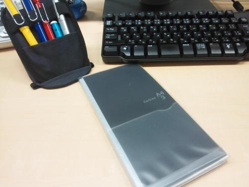 A4サイズの資料も一緒に持ち歩ける手帳Ca.Crea(カ.クリエ)は便利!のサムネイル画像