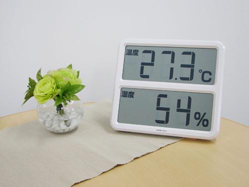 健康管理におすすめ!!部屋に置きたい湿度計をご紹介します♪のサムネイル画像