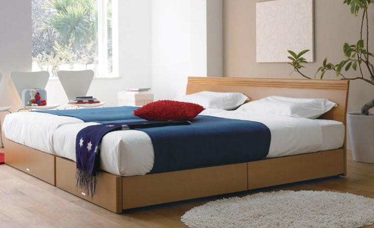 キングサイズのベッドで家族みんなで眠ろう!キングサイズベッド特集のサムネイル画像