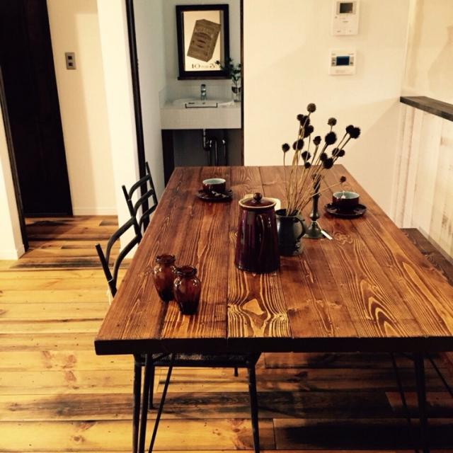 どこで手に入る?おすすめアンティーク家具 おしゃれなテーブルのサムネイル画像