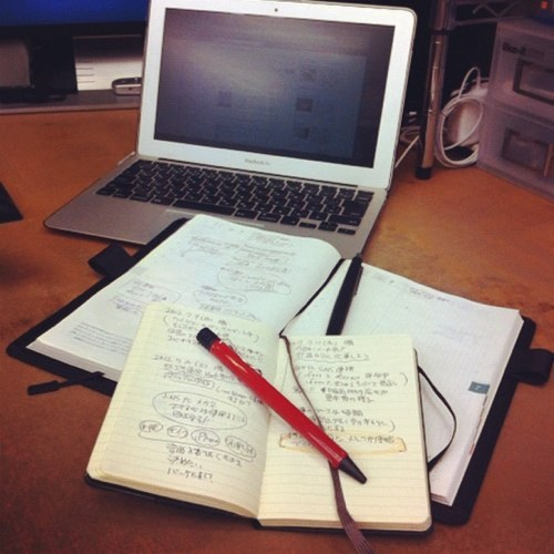 どうやって使っているの?みんなのモレスキン手帳の使い方を拝見。のサムネイル画像