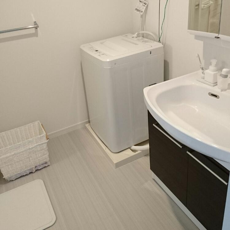 無印良品の洗濯機でランドリーエリアをおしゃれに演出してみたい♪のサムネイル画像