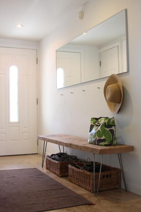ナチュラルな木製家具をインテリアに。【ベンチ】のあるお部屋のサムネイル画像