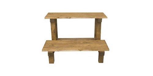 園芸に取り入れたい!木製のフラワースタンドを紹介します☆のサムネイル画像
