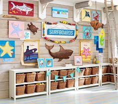 Hawaiianな絵で、夏を感じよう!壁掛けインテリアでおしゃれ部屋に♪のサムネイル画像