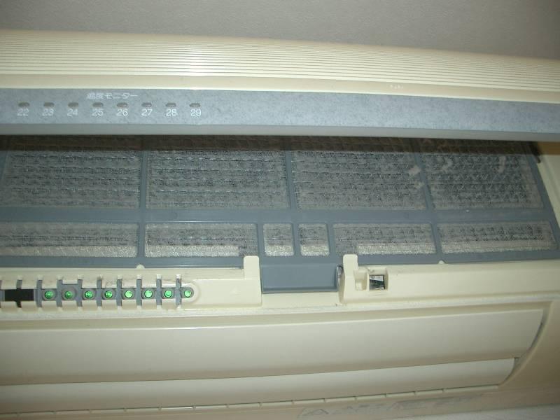エアコンのフィルターは掃除していますか?全然違いますよ!のサムネイル画像