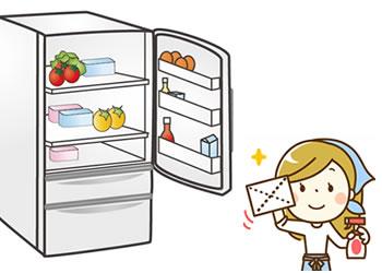 冷蔵庫の掃除はニオイ対策!あなたはどこまでやっていますか?のサムネイル画像